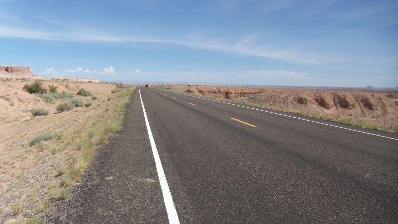 Desert Road.  HOT