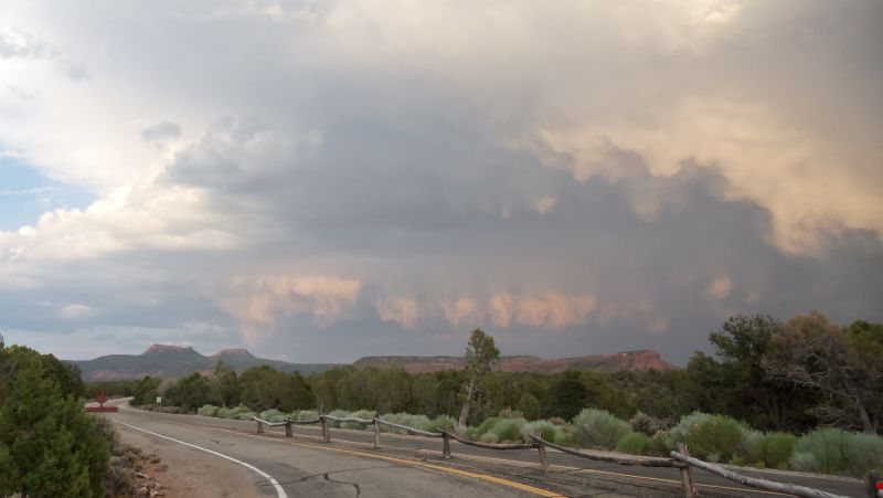 Clouds at Natural Bridges Park