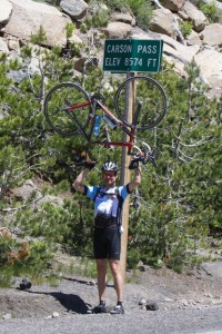 At the top of Carson Pass